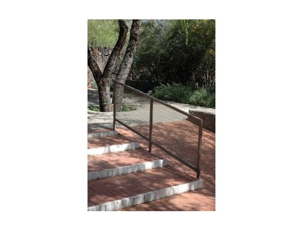 Expanded Metal Railing Cover