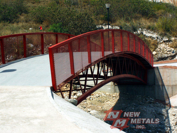 Expanded Metal Bridge Railing