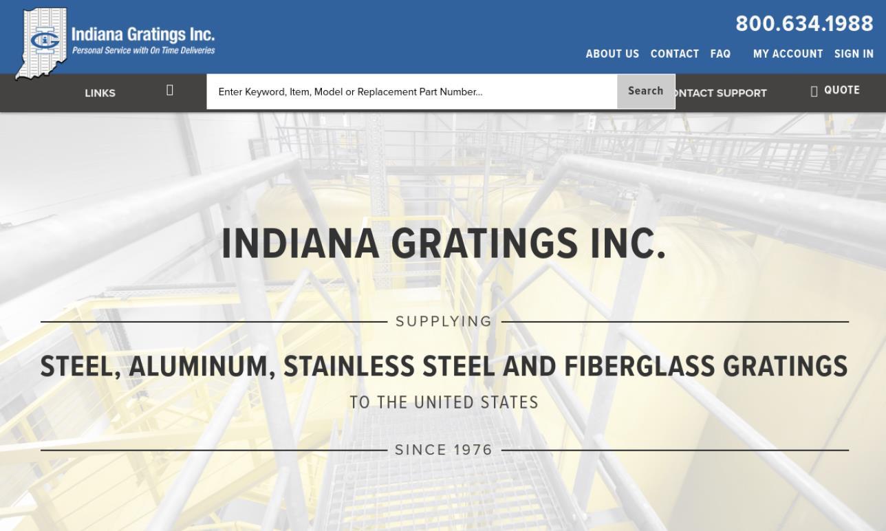 Indiana Gratings, Inc.