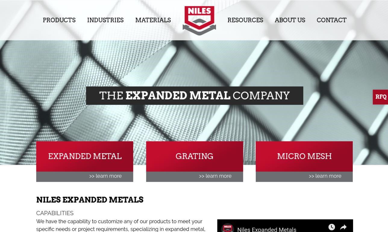 Niles Expanded Metals & Plastics