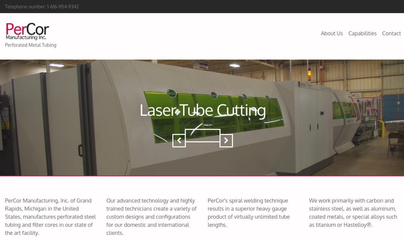 PerCor Manufacturing, Inc.