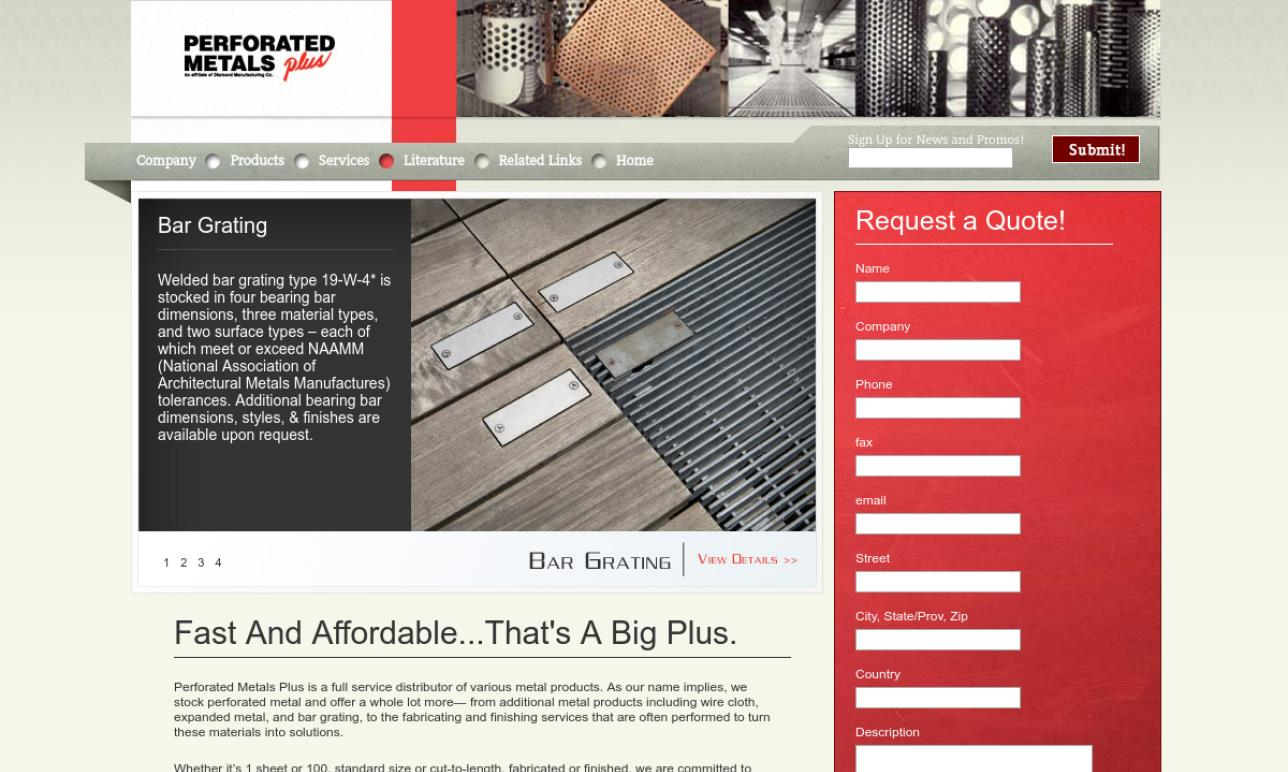 Perforated Metals Plus