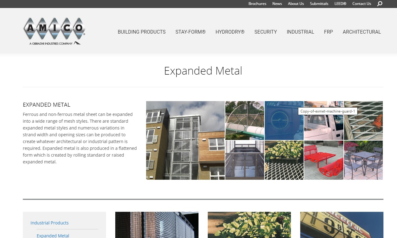 Alabama Metal Industries Corporation (AMICO)